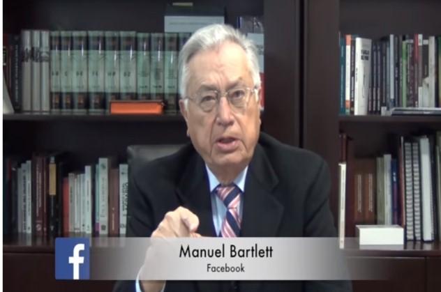 VIDEO: Bartlett alerta a los mexicanos para evitar militarización