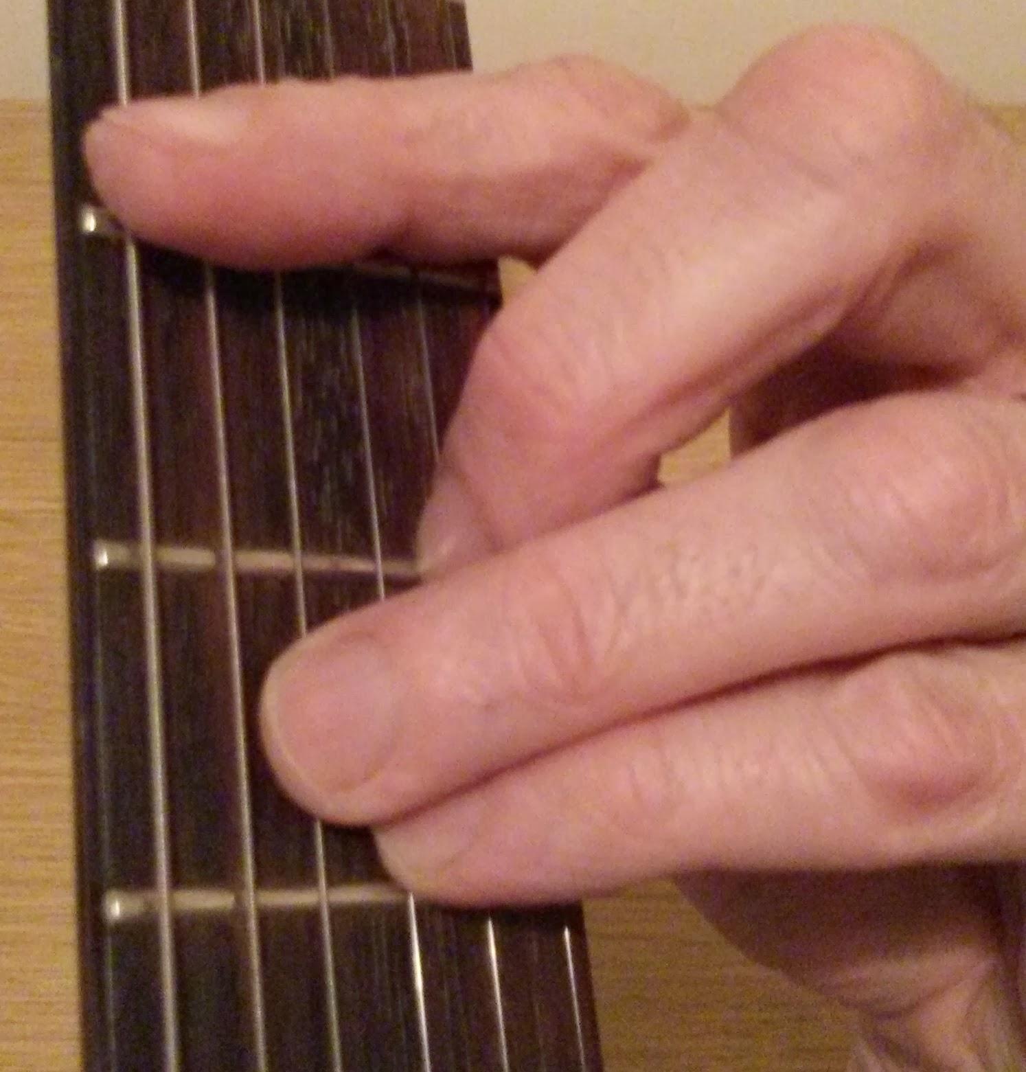 C min guitar chord
