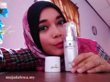 testimoni glamoskin, glamoskin legacy secret, glamoskin cleanser, glamoskin collagen gel, glamoskin produk kecantikan terbaik
