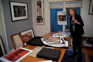 Barbara Tyroler at her Studio on Tour