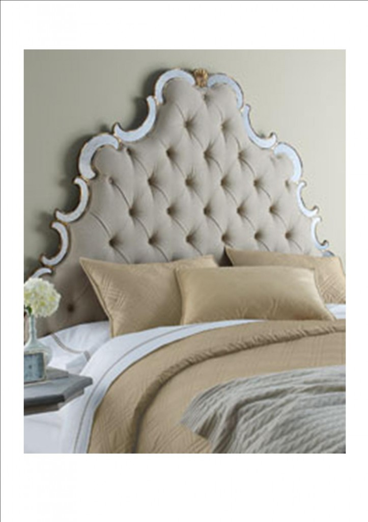 Mirrored Headboards