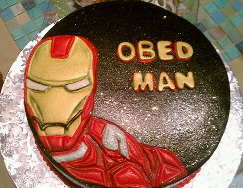 Tortas Decoradas de Iron Man