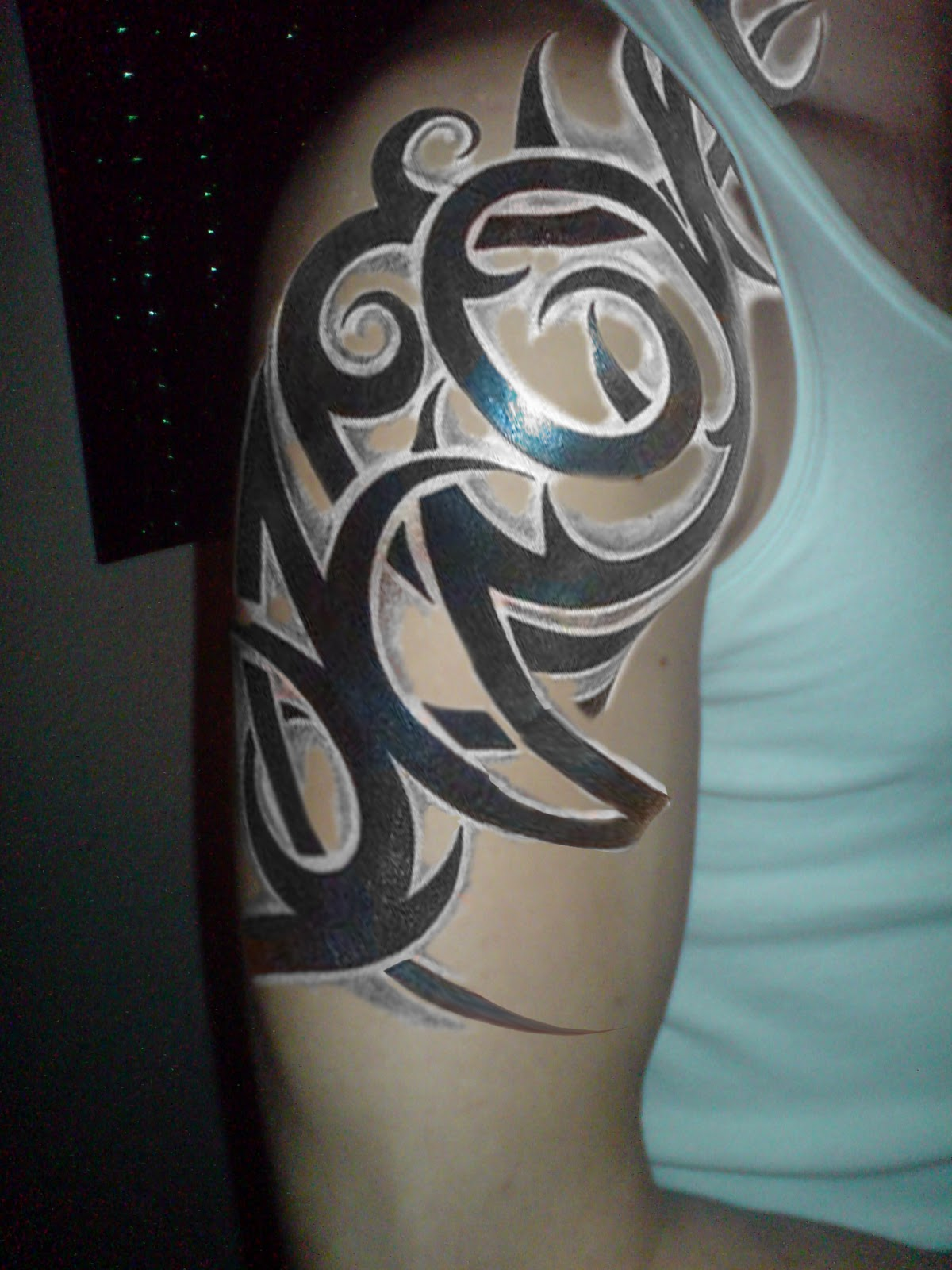 Tribal Sleeve Tattoos - 4
