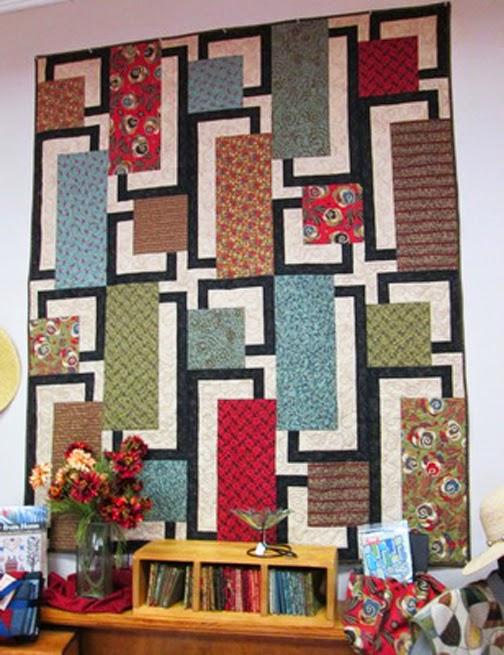Barbara Brackman's MATERIAL CULTURE: Maple Island and Modernism : bq quilt pattern - Adamdwight.com