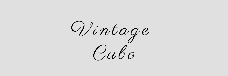 Vintage Cubo