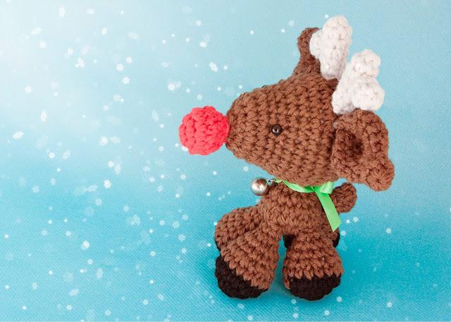 amigurumi rudolph Reindeer reno