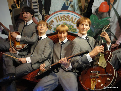Beatles de cera - Museu Madame Tussauds, Londres