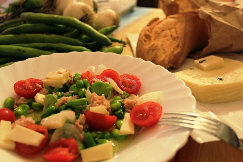 insalate di fave