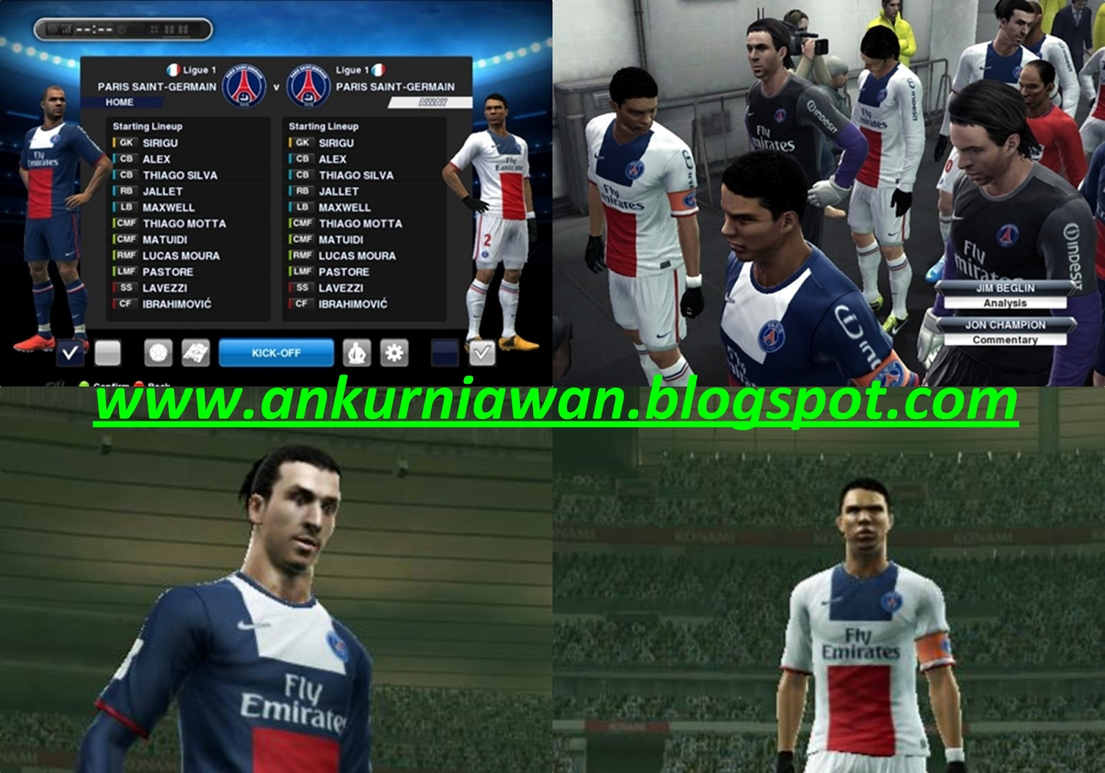 Download New Kits Home + Away PSG 2013/2014 by Ahmad Nur Kurniawan