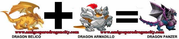 como hacer el dragon panzer en dragon city formula 2