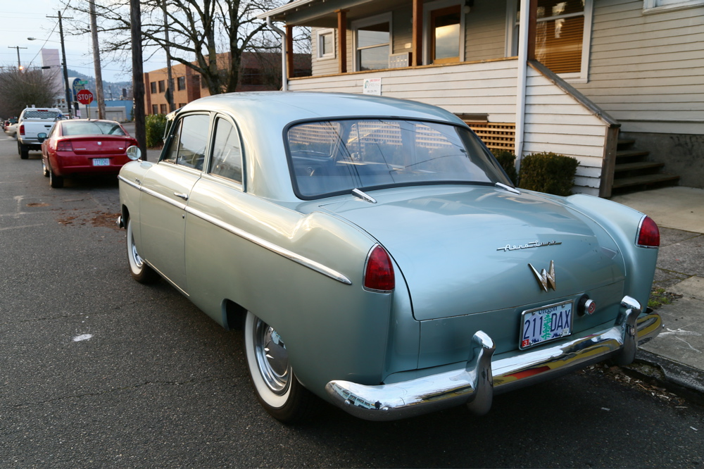 1952 Willys Aero Lark.