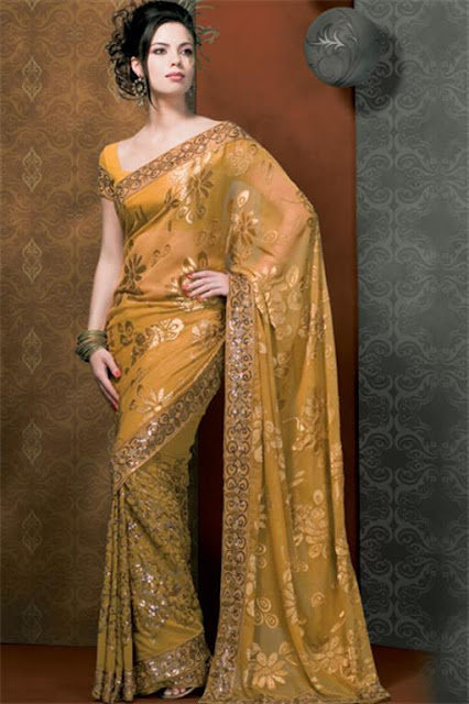 Party Saree Wear 2012