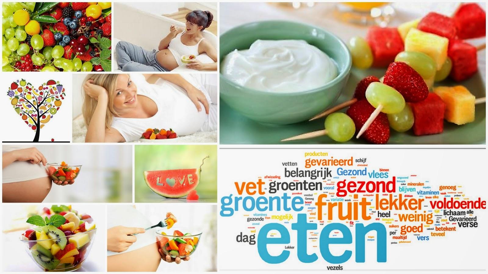 wat is gezond eten tijdens zwangerschap