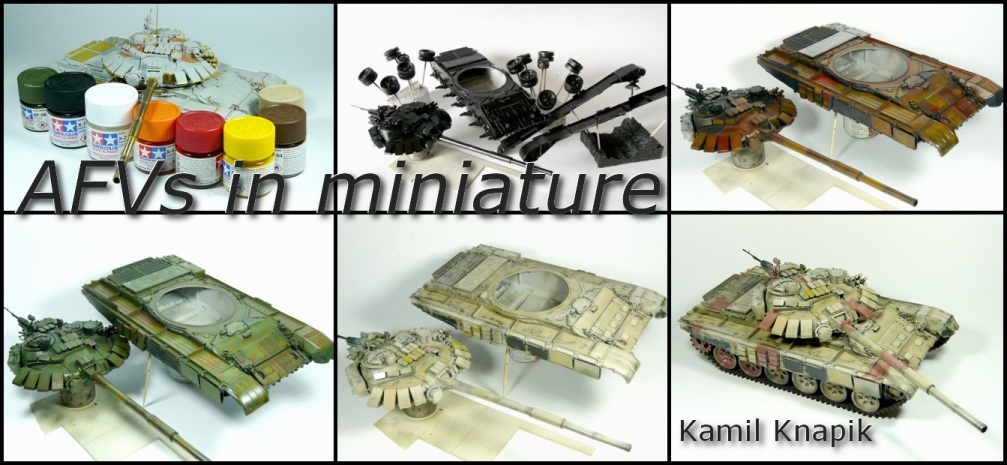 AFVs in miniature