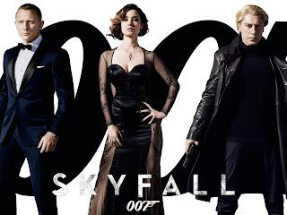 Skyfall 007 iPad Retina Wallpaper