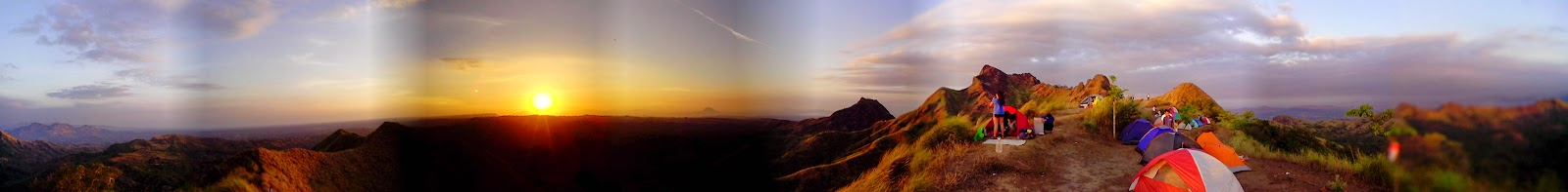 Sunrise in Mt. Batulao, Batangas