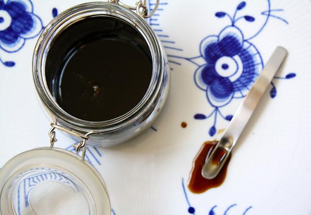 maltsirup, hjemmelavet maltsirup, hjemmelavet sirup