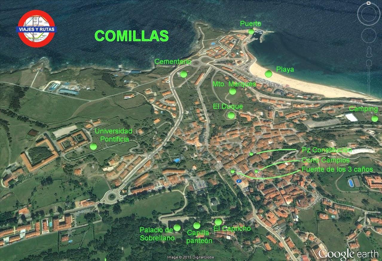 Comillas Una De Las Localidades M 225 S Bonitas De Cantabria