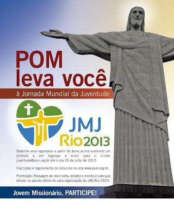 Concurso: POM leva você à JMJ Rio 2013
