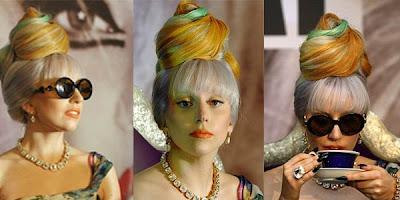 Gaya Rambut Unik Lady Gaga Terbaru