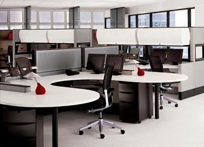 desain meja kantor minimalis 3