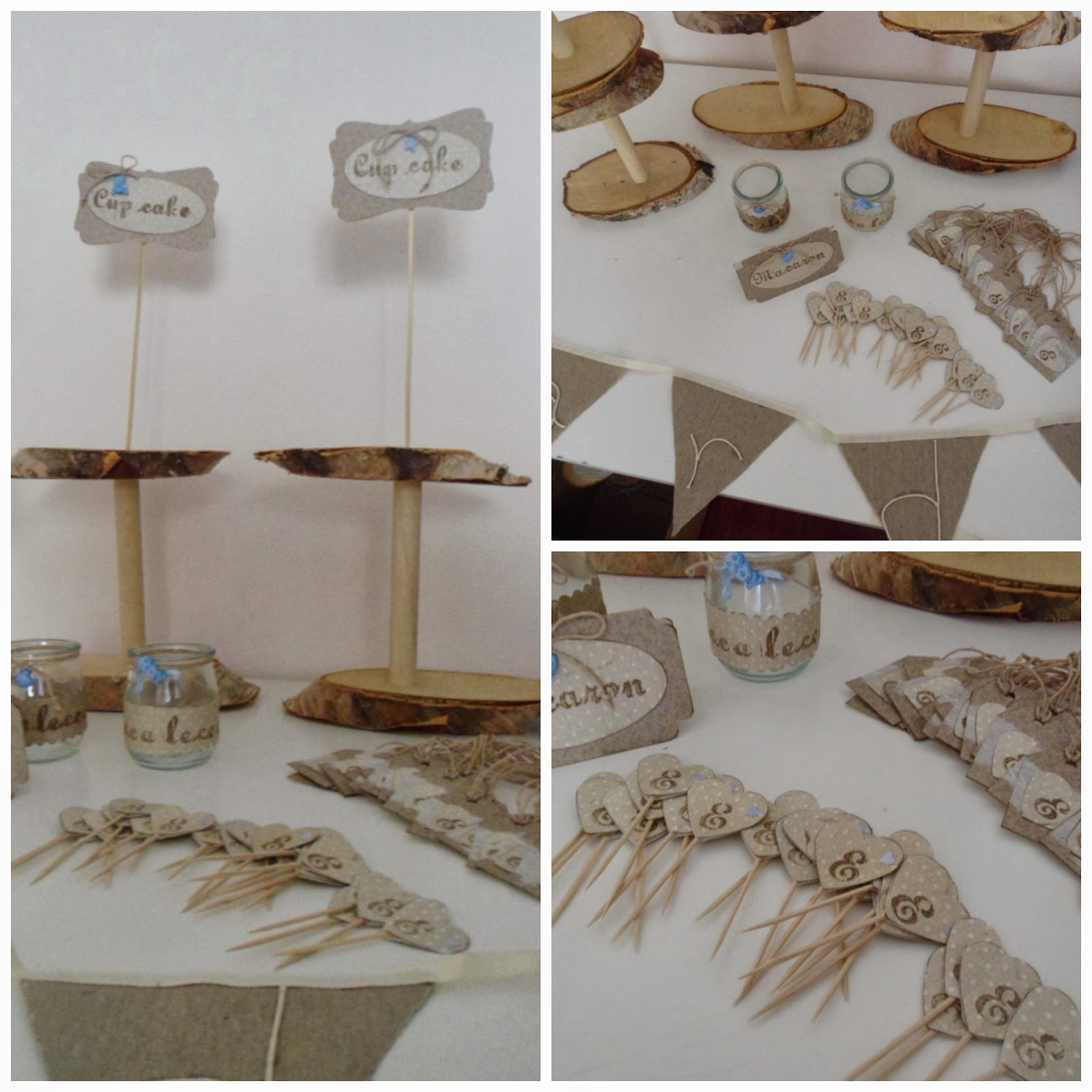 Eli crea shabby & co.: sweet table per un battesimo