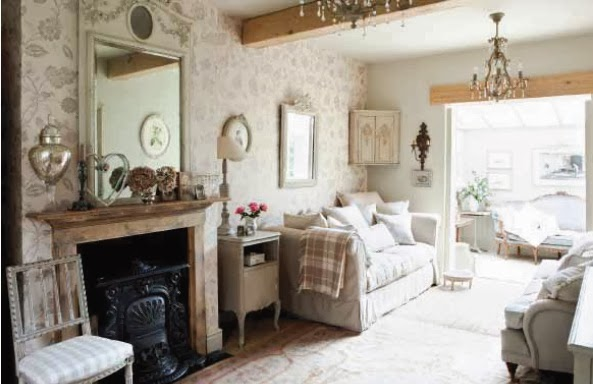 French vintage style decorating ideas
