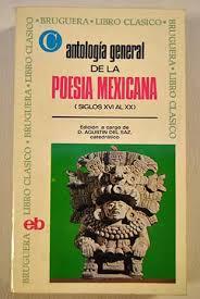 Textos de Poesía Mexicana