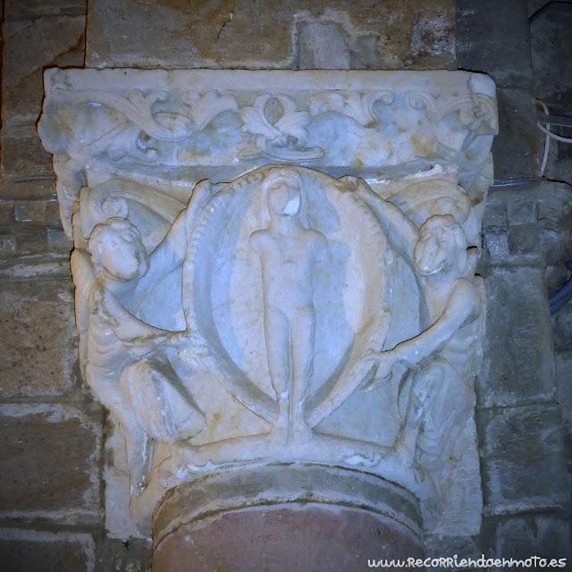 Capitel norte de Sta Marta de Tera
