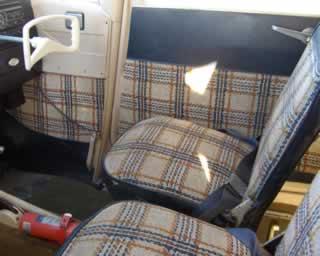 Cessna 172 Interior