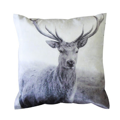 stag/deer photo pillow