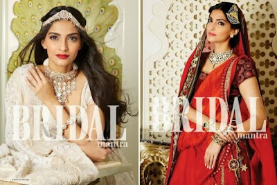 Sonam Kapoor's Photoshoot for The Hindu Bridal Mantra ad