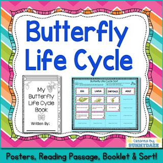 https://www.teacherspayteachers.com/Product/Butterfly-Life-Cycle-1979173