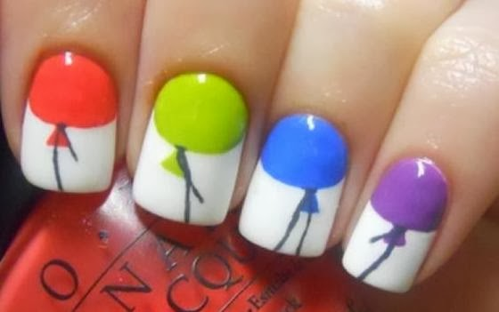 Colourfull Nail Art
