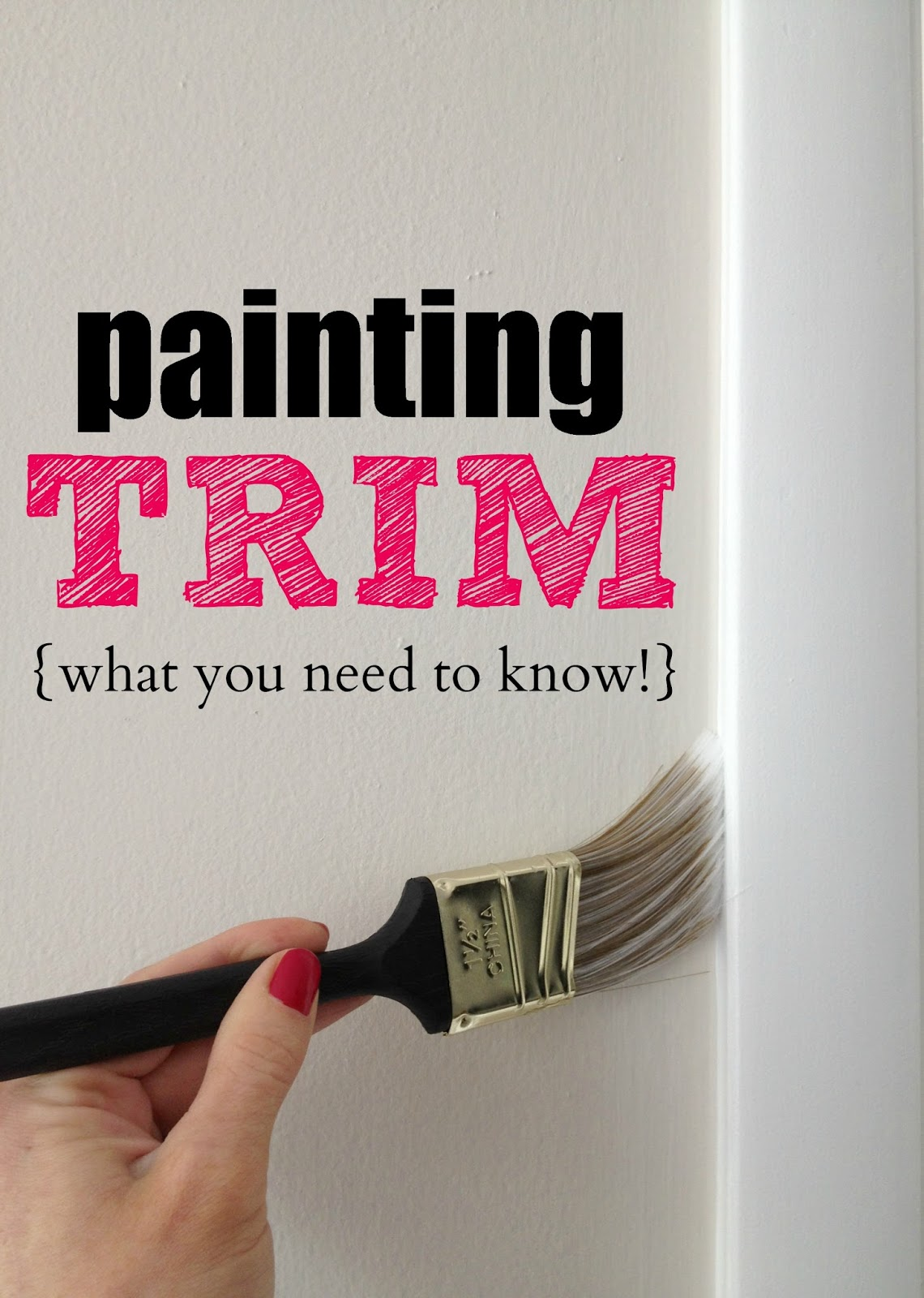Sire design daily 10 home improvement ideas how to make for How to paint trim