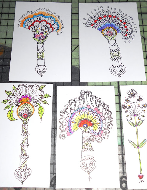 And continued to add more colours to all of them
