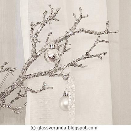 Førjuls-DIY: Lekker kvist i sølv og paljetter!