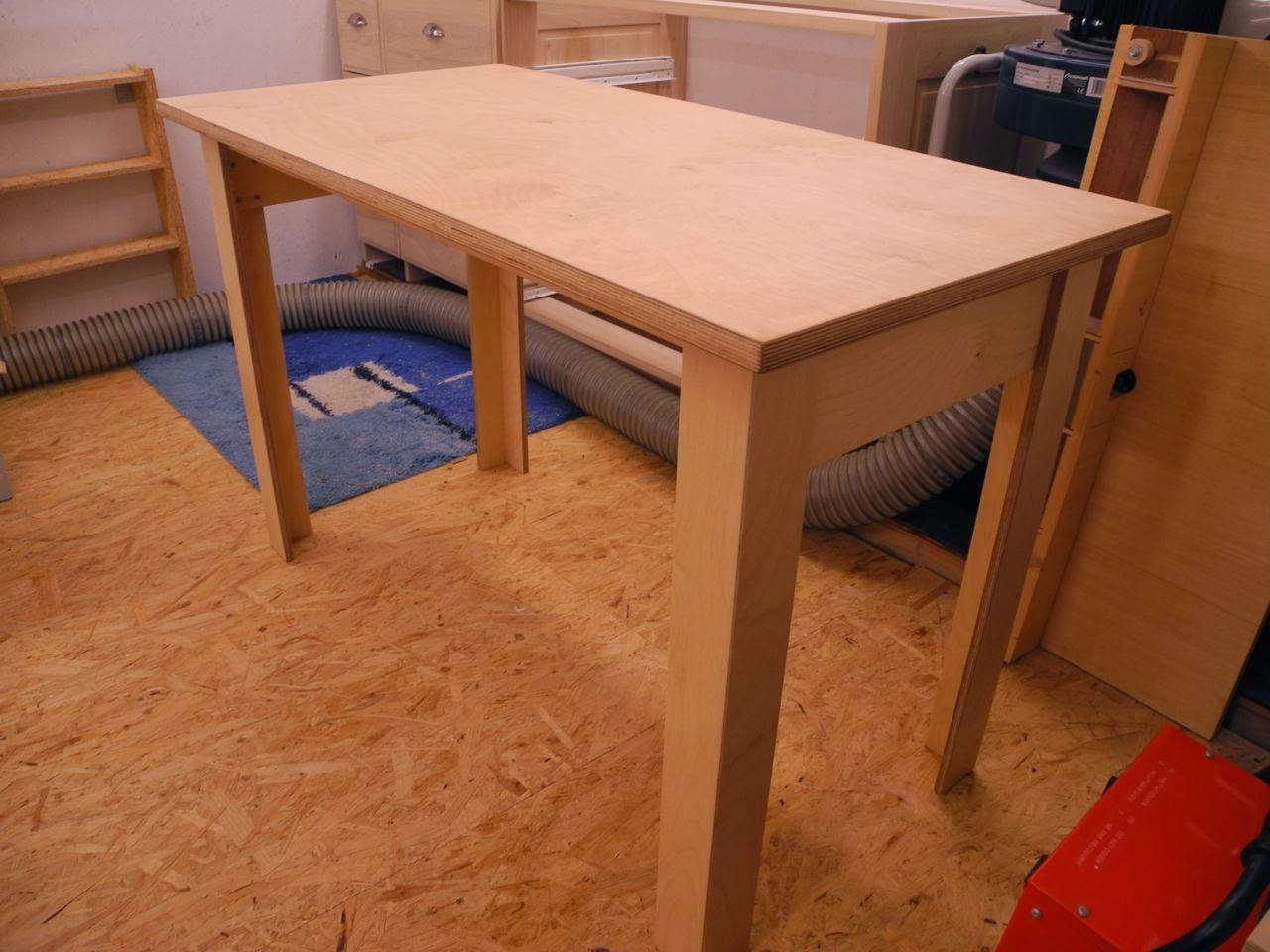 thewoodtinkerer feierabendprojekt schreib tisch. Black Bedroom Furniture Sets. Home Design Ideas