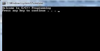 C++ Output Program