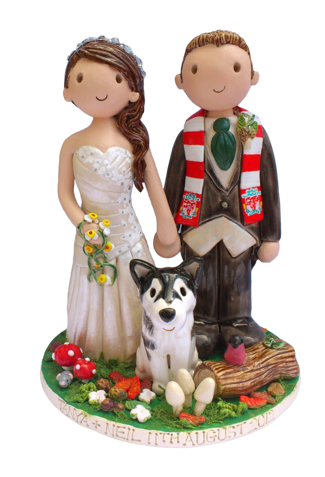 Wedding cake ornaments - Cake Toppers