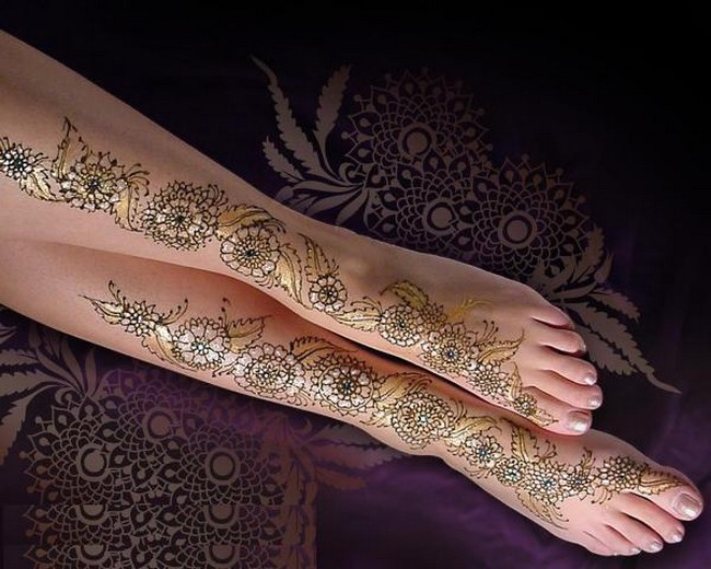 Mehndi Design For Hands Latest Bridle Mehndi Designs On Legs And Feet