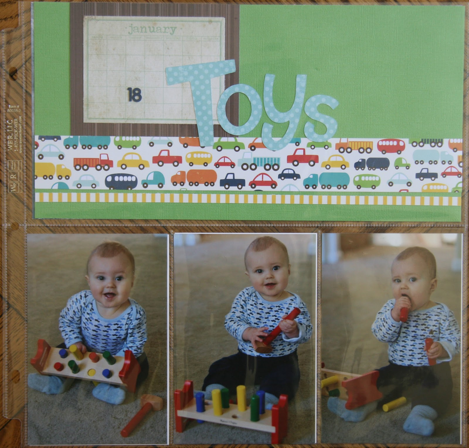 How to scrapbook without page protectors - Here Is Another Quick Layout Created With The We R Memory Keepers Divided Page Protectors I Am Using These To Help Get Caught Up On Scrapbooking Without