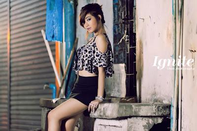 Thet Su Zin - Myanmar Model Girls