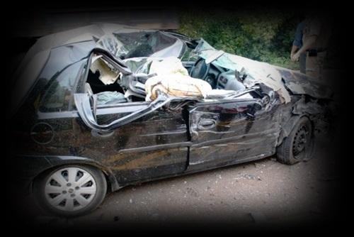 acidente de carro - motorista bêbado