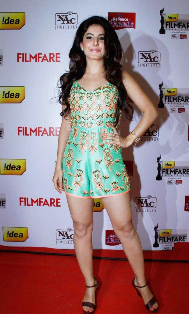 Isha at 61st Idea Filmfare Awards 2013 (South)