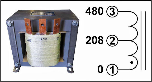 l c magnetics single phase buck transformer 3 kva input 480 vac output 208 vac p n 19008u. Black Bedroom Furniture Sets. Home Design Ideas