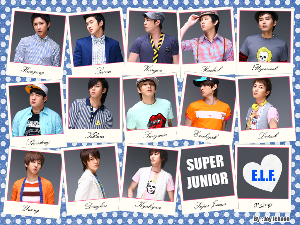 Super Junior Love E.L.F Wallpaper  Take Wallpaper