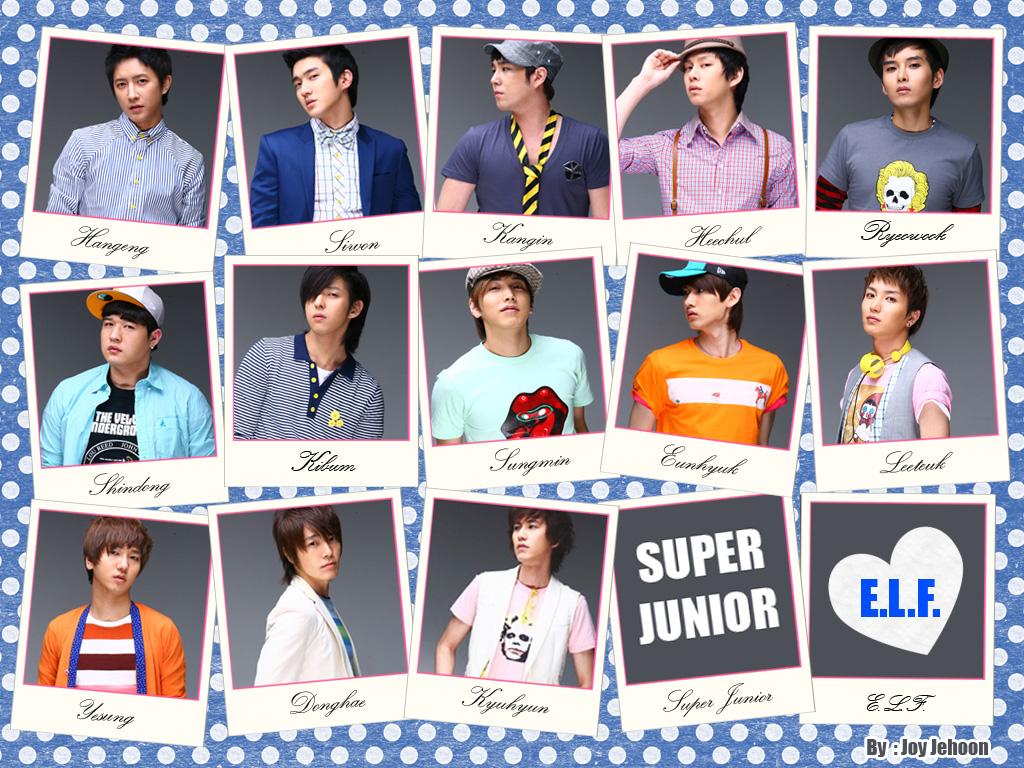 Super Junior Love E.L.F Wallpaper  Take Wallpaper