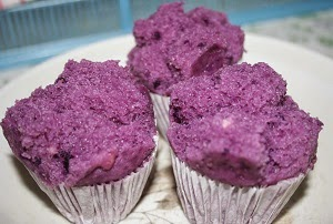 resep dan cara membuat bolu kukus ubi ungu