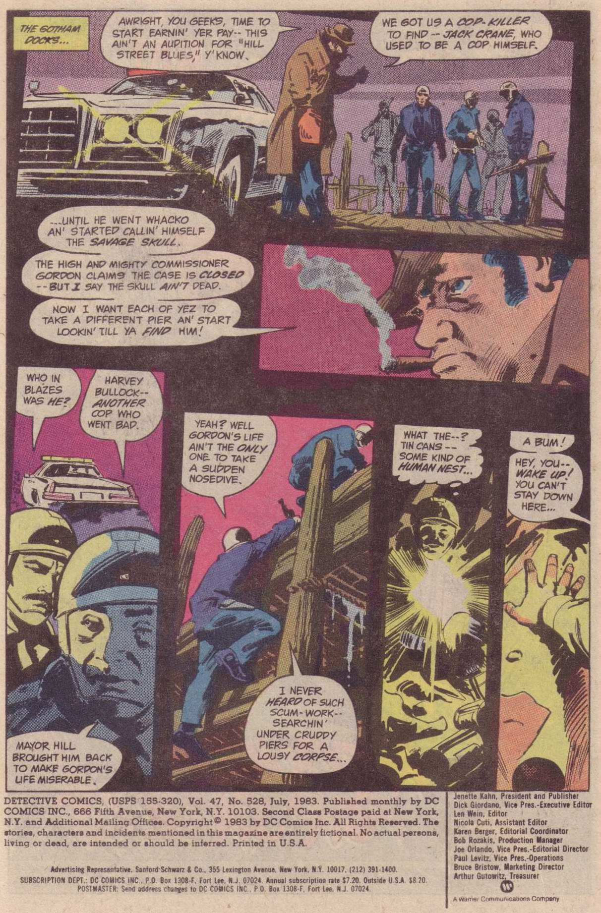 Detective Comics (1937) Issue #528 Page 3